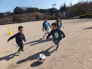 キッズサッカー教室スタート